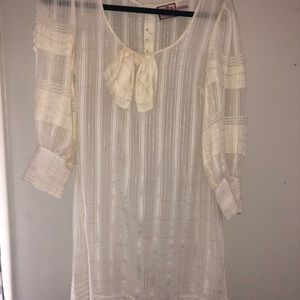 Juicy Gold/cream colored  dress!!